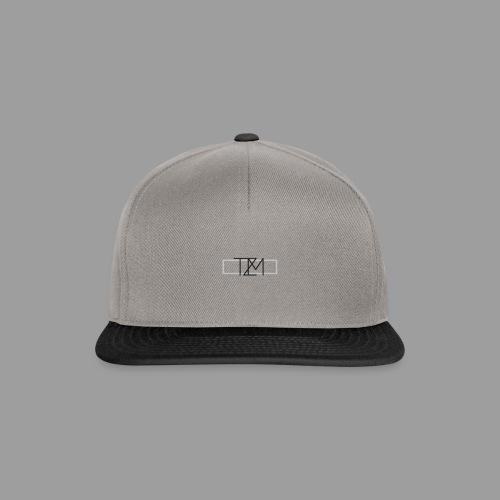 TMZ Logo black grey - Snapback Cap