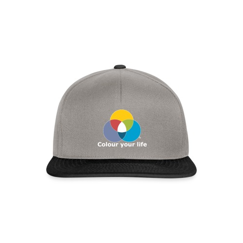 Male Dir Dein Leben bunt - Snapback Cap