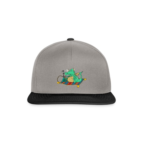 logo2 only logo - Snapback Cap