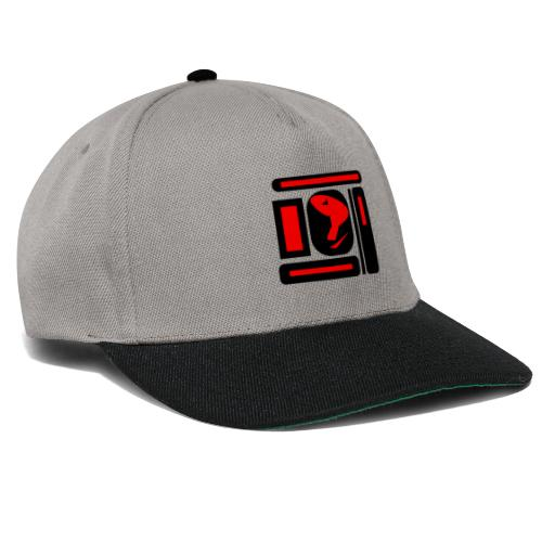 black and red hot P - Snapback Cap