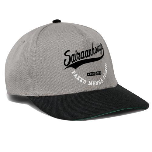 Sairaanhoitaja - pakko mennä töihin - Snapback Cap