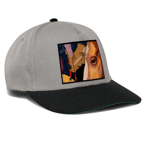 Man and Horse - Snapback cap