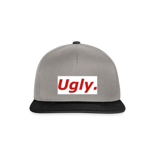 Unironically Ugly Box Logo Design - Snapback Cap