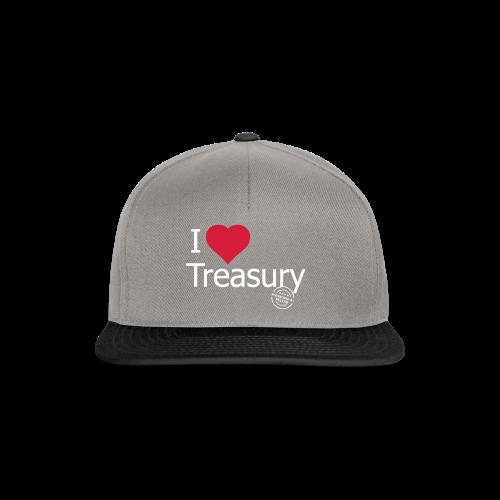 I LOVE TREASURY - Snapback Cap