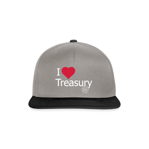 I LOVE TREASURY - Snapback Cap
