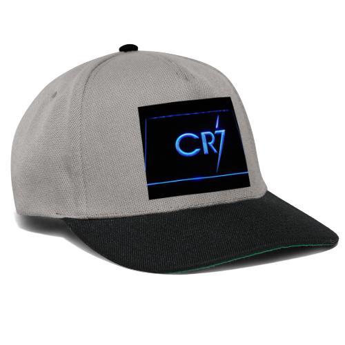 C R 7 neon - Snapback Cap