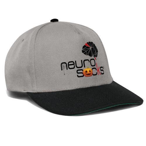 NeuroSocks - Halloween Logo - Snapback Cap