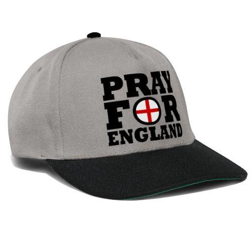 England / Pray For England - Snapback Cap