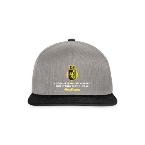 GagaGarden Generalfeldwachtmeister med sverdknute - Snapback-caps