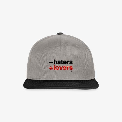 -haters +lovers (edición corazones) - Gorra Snapback