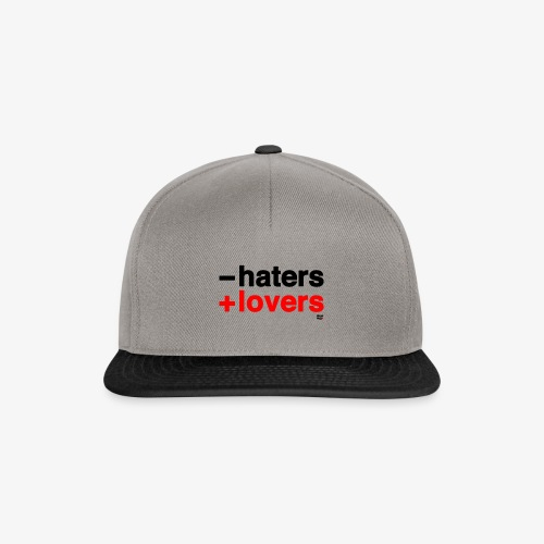 -haters +lovers - Gorra Snapback