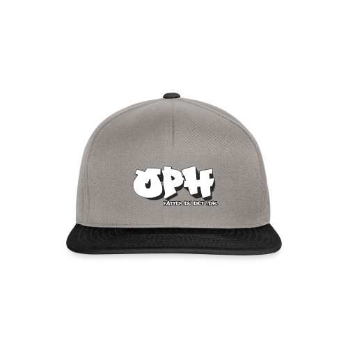 Grå OPH cap - Snapback Cap