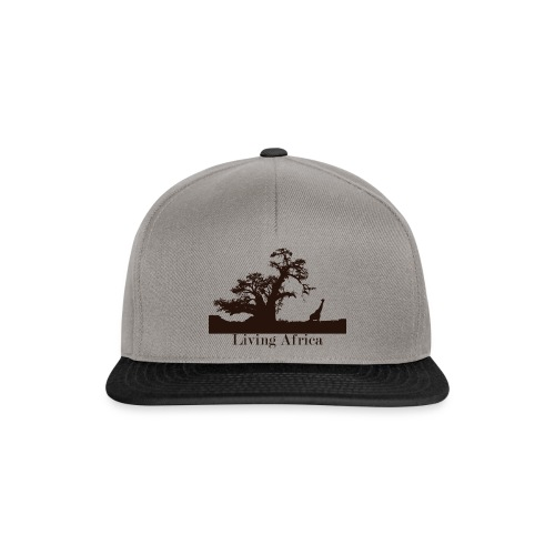 Ultimate_Living_Africa-png - Snapback Cap
