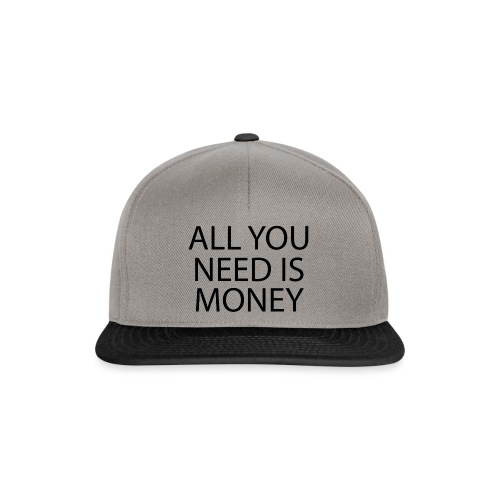 All you need is Money - Snapback-caps