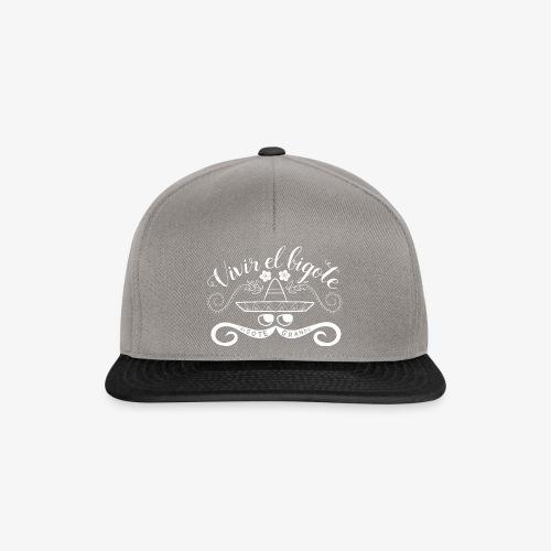 Handlettering Bigote Grande W - Snapback cap