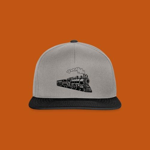 Lokomotive / Locomotive 02_schwarz - Snapback Cap