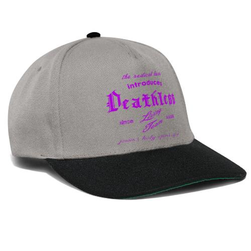 deathless living team violet - Snapback Cap