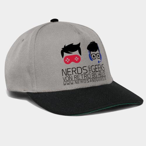 NAG Logo - komplett 2 - Snapback Cap