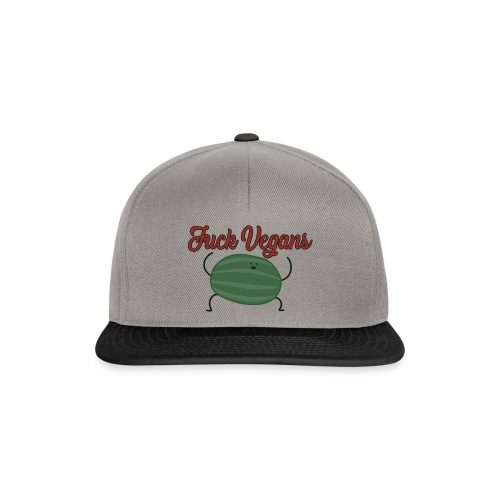 Fuck Vegans - Snapback Cap