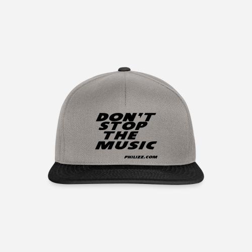 dontstopthemusic - Snapback Cap