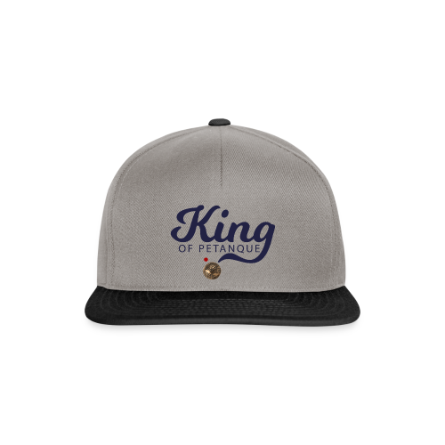 KING OF PETANQUE - Casquette snapback