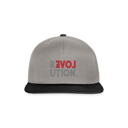 Revolution Love Sprüche Statement be different - Snapback Cap