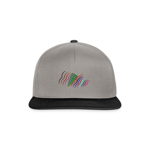 Intoxiqé birds words t-shirt - Snapback Cap