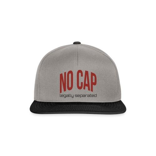 Bez czapki - Czapka typu snapback