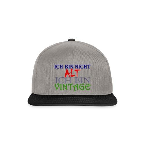 NICHT ALT NUR VINTAGE - Snapback Cap