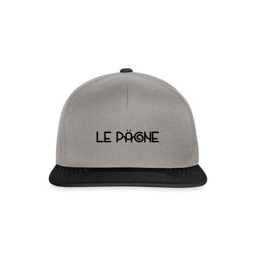 Le Pägne Logo Noir - Casquette snapback