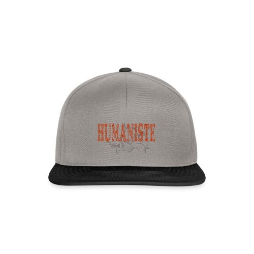 HUMANISTE - Casquette snapback