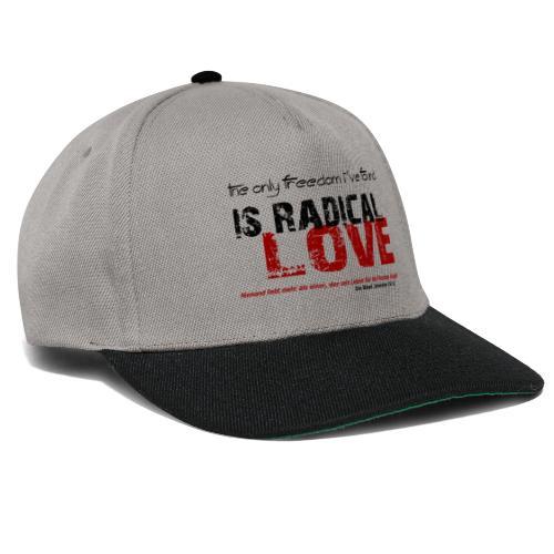 Radikale Liebe black - Snapback Cap