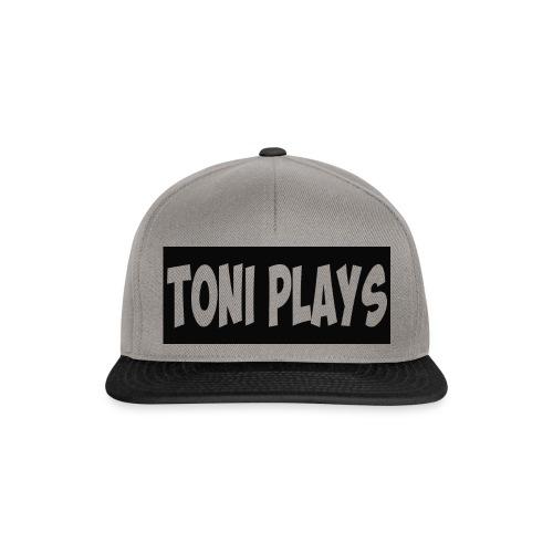 Toniplays logo - Snapback Cap
