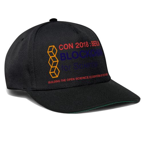 Blockchain For Science Conference 2018 - Snapback Cap