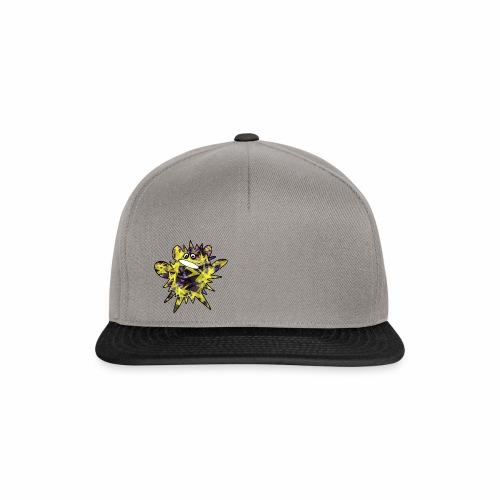 Monsterchen Blitz gelb - Snapback Cap