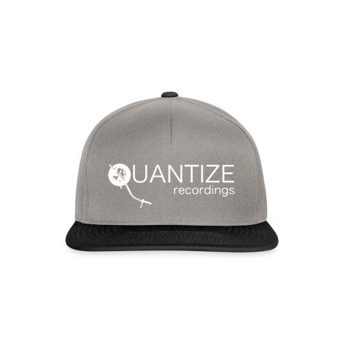 Quantize White Logo - Snapback Cap