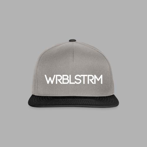 WRBLSTRM weiß - Snapback Cap
