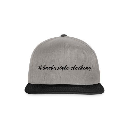 #barbustyle schwarz - Snapback Cap