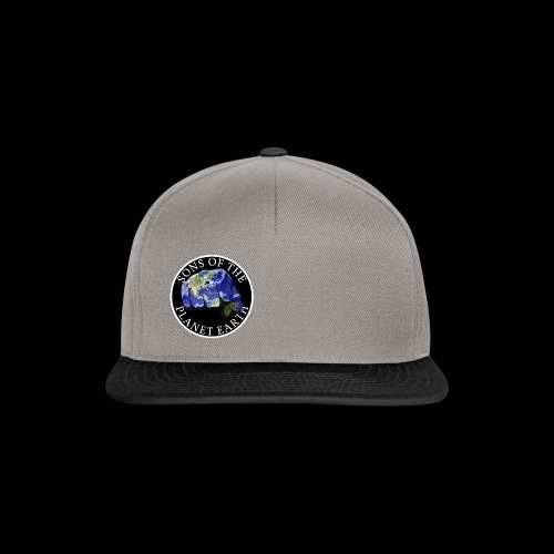 SONS OF THE PLANET EARTH black backround - Snapback Cap