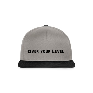LOGO Over Your Level - Snapback Cap