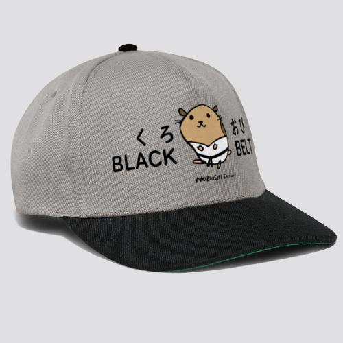 Zwarte gordel hamster - Snapback cap