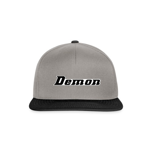 Demon Clan Simples Design - Snapback Cap
