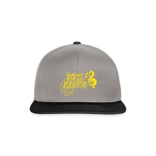 i m alive geel png - Snapback cap