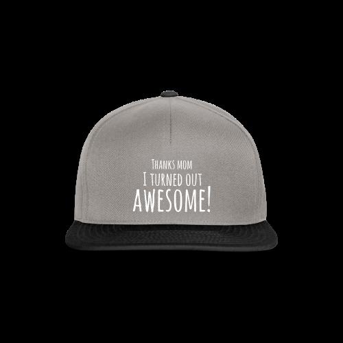 awesome - Snapback cap