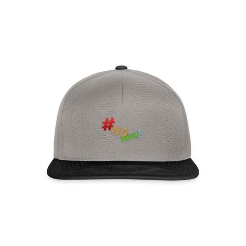 #NoBruh T-shirt - Women - Snapback Cap