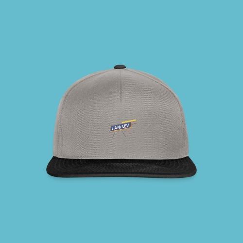 I AM LEV Banner - Snapback cap