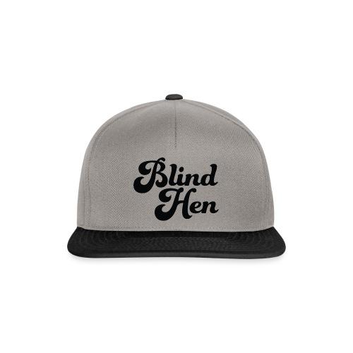 Blind Hen - Logo Lady fit premium, blue - Snapback Cap