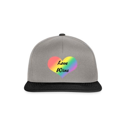 Love Wins - Snapback Cap