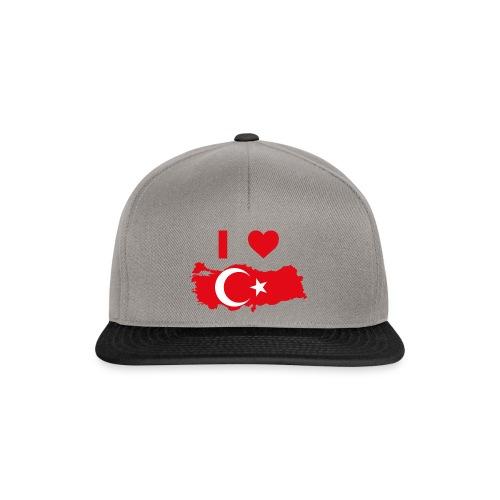 I LOVE TURKEY - Snapback cap