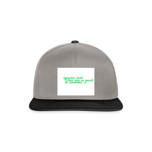 monster jack logo - Snapback Cap